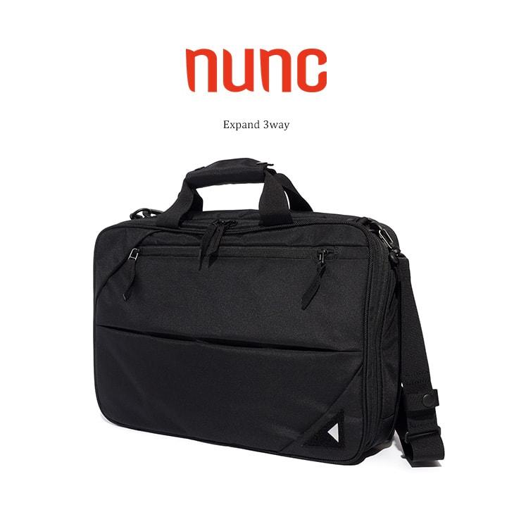 nuncの3WAYバッグ