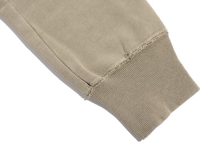 スウェットの袖
