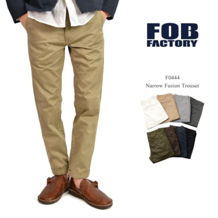 FOBF0444NARROW_FUSIONTROUSERナローフュージョントラウザー