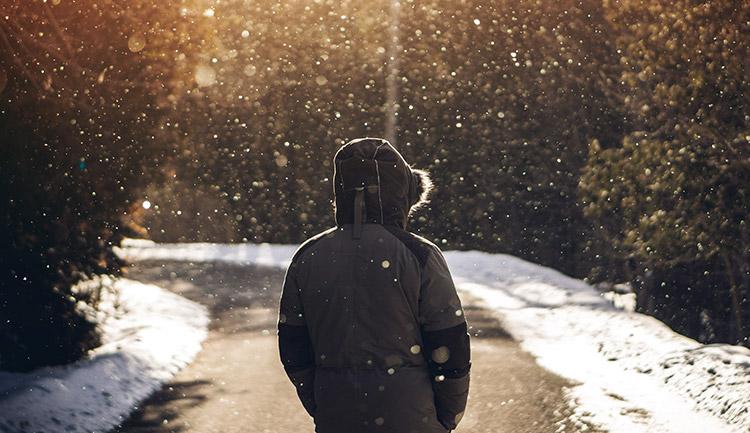 寒い日のインナーはメリノウール