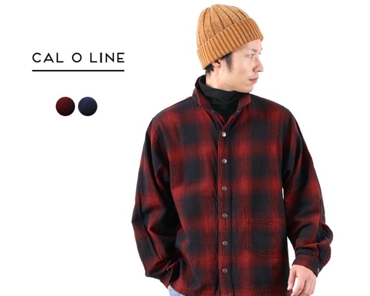 CAL O LINEのチェックアトリエスモック