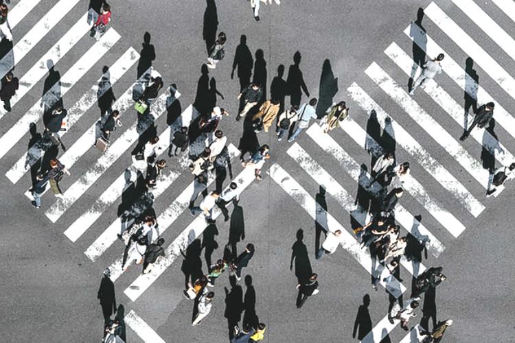 多様性を表現する交差点
