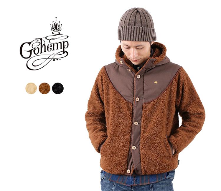 GOHEMPのモンゴリアんフリースジャケット