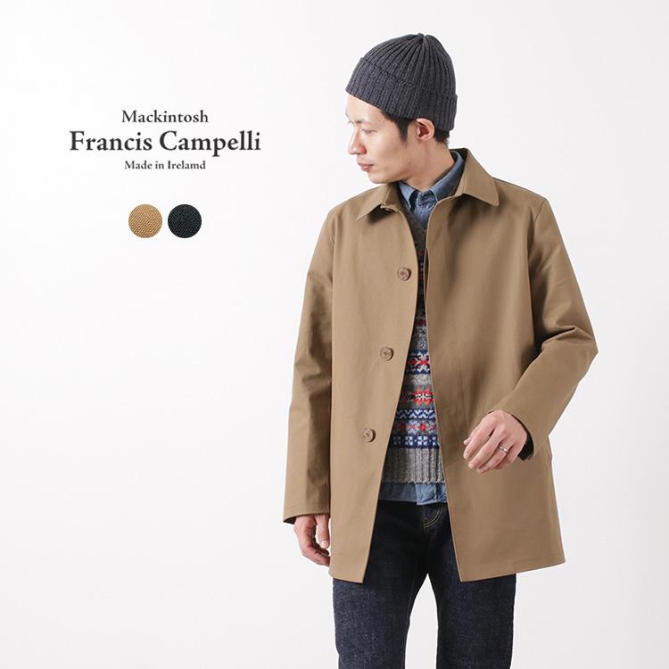 FRANCIS CAMPELLI BY MACKINTOSH RAINWEAR(マッキントッシュレインウェアー) シングル ブレステッド コート