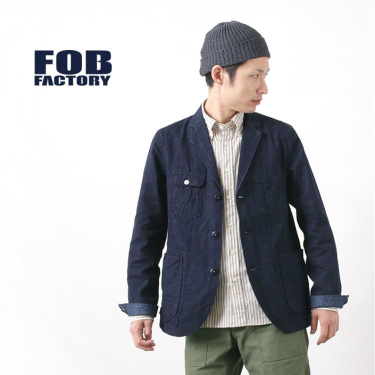 FOB FACTORY(FOBファクトリー) F2398 エンジニア デニム ジャケット