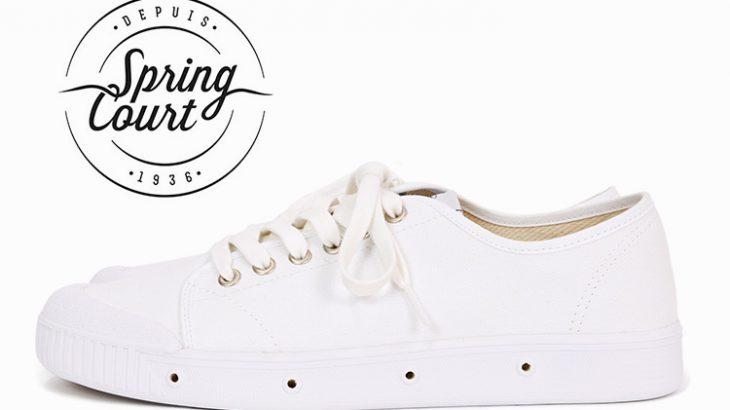今年の白スニーカーは『Spring Court』で決まり!