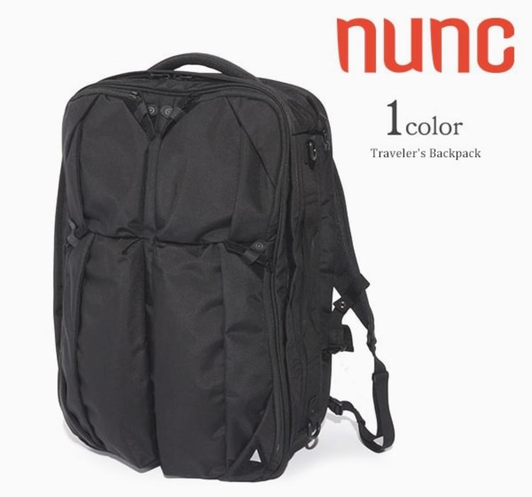 NUNCのトラベラーズバックパック