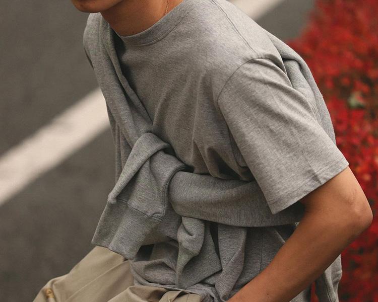 MOC T(モクティー) クルーネック Tシャツ / レギュラーフィット