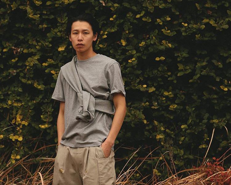 MOC T(モクティー) クルーネック ポケットTシャツ / ルーズフィット