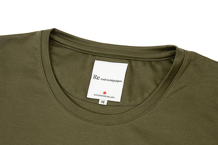 ドレスTシャツのネック