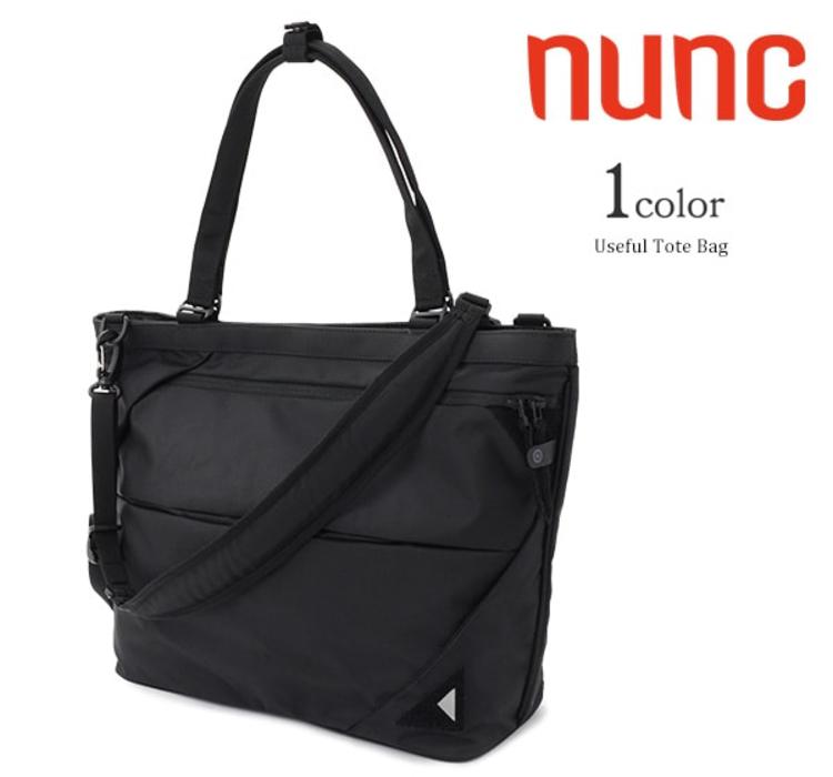 NUNC(ヌンク) ユースフル トートバッグ