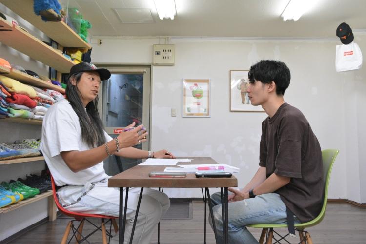 エースナイン佐井氏と足立の対談