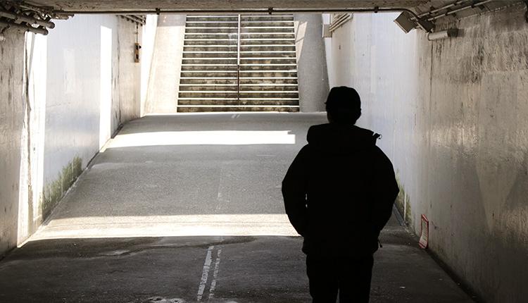 トンネルを抜けた先には冬が待っていました