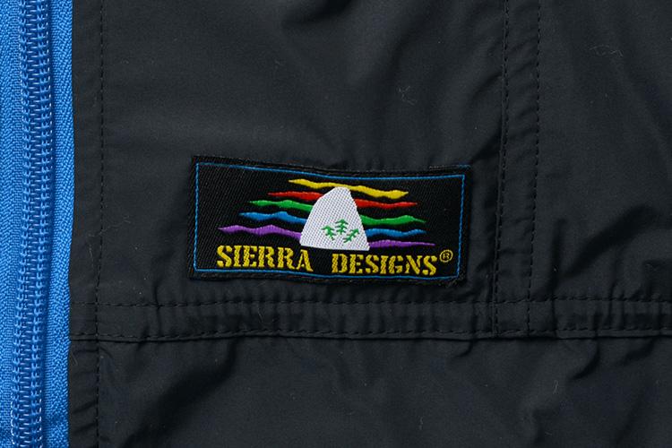 SIERRA DESIGNS マイクロ ライト ジャケットのレインボーロゴ画像