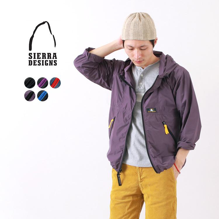 SIERRA DESIGNS マイクロ ライト ジャケットのモデル着用画像