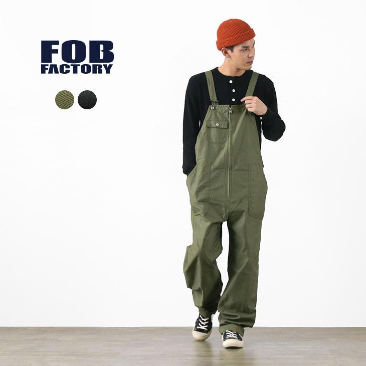 FOB FACTORY (FOBファクトリー) F0489 / ミリタリー オーバーオール