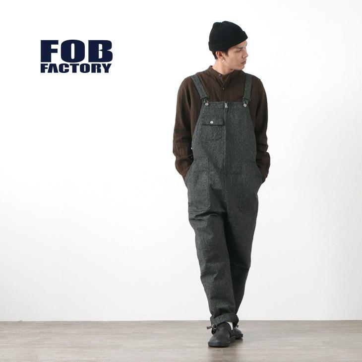 FOB FACTORY (FOBファクトリー) F0494 サージ オーバーオール