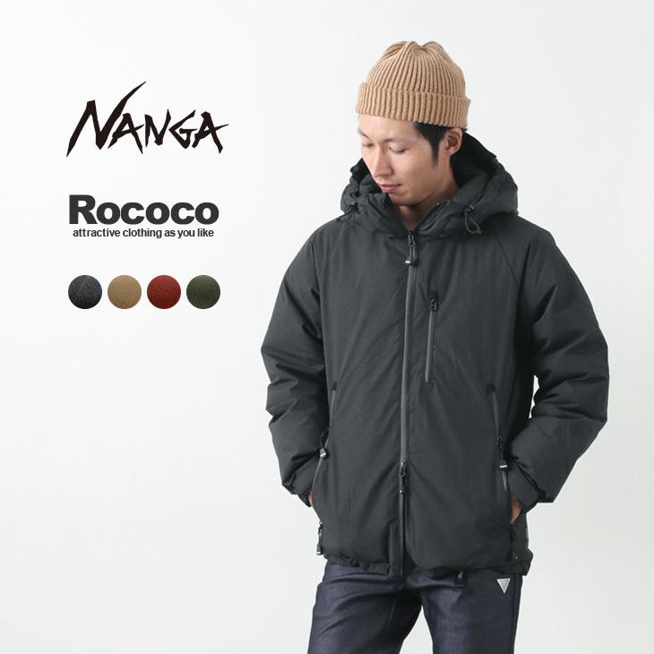 NANGA 別注 焚火 オーロラ ダウンジャケット