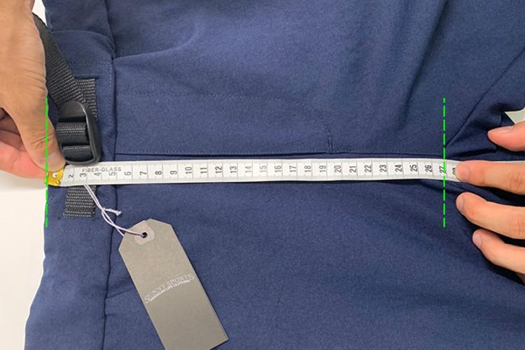 ガゼットのパンツの計測には要注意